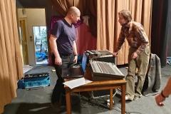 Oživování obecní zvukové techniky 12 (28. 4. 2019)